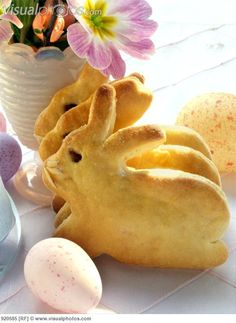 Easter bunny bread