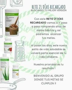 Herbalife Aloe, Herbalife Recipes, Herbalife Shake, Herbalife Nutrition, Nutrition Club, Health And Nutrition, 21 Day Shake Challenge, Personal Hygiene, Protein Bars