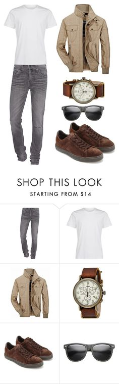 """Sem título #70"" by gomesjessia ❤ liked on Polyvore featuring beauty, True Religion, Jeep Rich, Timex, Tod's and ZeroUV"