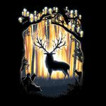 Deer God Please Save Our Forest
