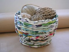 Recycled newspapers