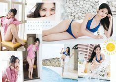 HKT48 Natsumi Matsuoka Natsu no Odekake on Young Animal Magazine