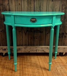 Painted Accent Table by A to Z Custom Creations
