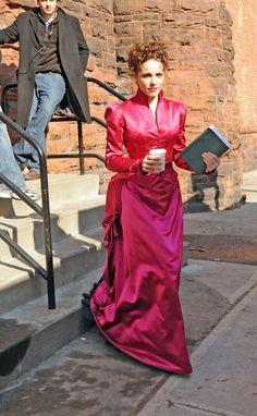 Sherlock homes - irene adler pink full length w/out wrap