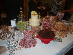 Candy Bar at 25th Anniversary party