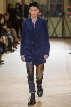 Junya Watanabe Fall 2014 Menswear Collection Slideshow on Style.com