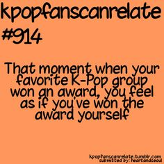 U get so happy for them ^.^  Kpop fans can relate