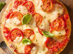 Crescent Roll Margherita Pizza