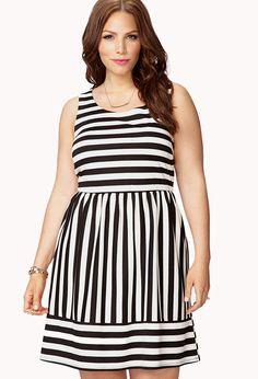 Dreamer Striped Fit & Flare Dress €21,75 2X