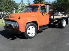 1954 FORD F600 FLATBED TRUCK photo 15