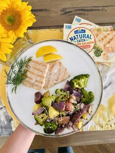 This salmon makes a great lunch or dinner. Gorton's All Natural Seafood Salmon makes an easy sheet pan meal and ready in 17 minutes. #easydinner #sheetpan Easy Weeknight Meals, Easy Meals, Simple Baked Salmon, Frozen Salmon, Frozen Seafood, Create A Recipe, Everything Bagel, Cooking Salmon, Grilled Salmon