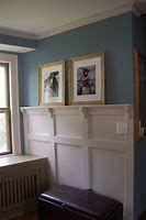 Wall Paneling Ideas Wainscoting Board And Batten Ideas Bathroom Doors, Wood Bathroom, Gray Bedroom, Trendy Bedroom, Grey Wood Furniture, Wainscoting Stairs, Wainscoting Ideas, Bathroom Wainscotting, Stairs In Kitchen
