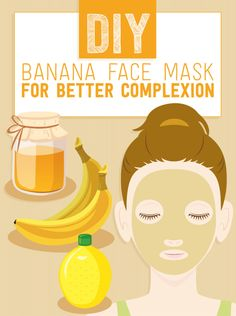 In a cheap and easy beauty treatment that is also good enough to eat, a DIY banana face mask can help to calm and clean skin for the change of the seasons.