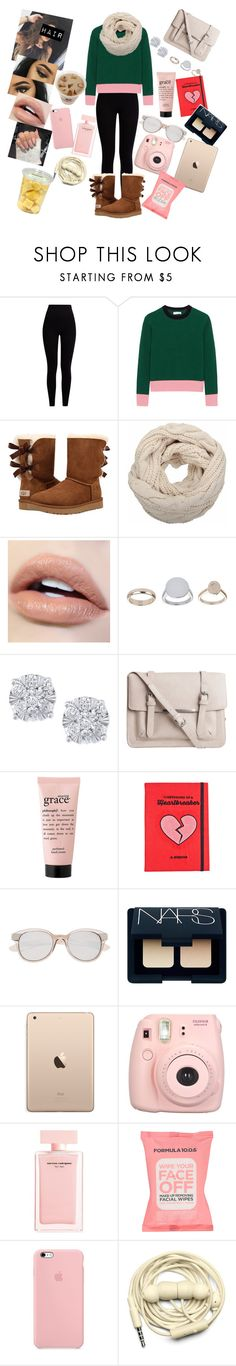 """""""Hello my names Sherlock Holmes"""" by annaconley on Polyvore featuring Pepper & Mayne, Chinti and Parker, UGG, Topshop, Effy Jewelry, Pieces, philosophy, Valfré, Witchery and NARS Cosmetics"""