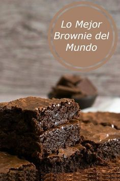 O Melhor Brownie do Mundo {Best Ever Brownie} - Inglês Gourmet Brownie brownie q significa en ingles Yummy Recipes, Sweet Recipes, Dessert Recipes, Cooking Recipes, Yummy Food, Cookie Dough Cake, Chocolate Chip Cookie Dough, Chocolate Brownies, Best Ever Brownies