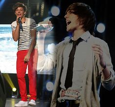 lou... now verses the beginning of x factor.... NOW WINS <3