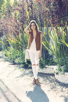 Shop My Very Own Collection! - Front Roe by Louise Roe Vest Outfits, Fashion Outfits, Front Roe, White Ripped Jeans, Back To School Fashion, Layering Outfits, Fashion Photo, Style Inspiration, My Style