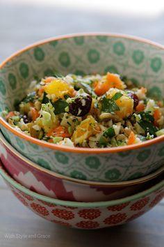 detox shredded vegetable salad