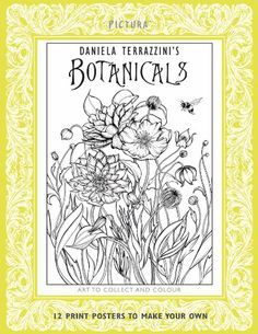 Pictura Prints Botanicals By Daniela Jaglenka Terrazzini Available At Book Depository With Free Delivery Worldwide