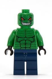 """Killer Croc(Waylon Jones) from the """"Batman"""" franchise Lego Dc, All Lego, Lego Batman Movie, Lego Marvel, Lego Minifigs, Lego Ninjago, Killer Croc, Lego People, Cool Lego Creations"""