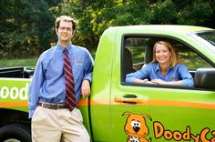 Jacob and Susan DAniello, founders of DoodyCalls.