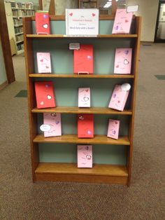 Blind date with a book library display