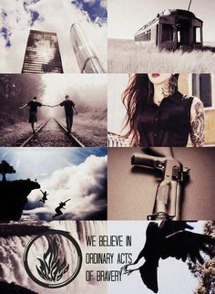 """""""We believe in ordinary acts of bravery."""" -Dauntless"""