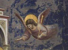 Obraz:  Giotto (di Bondone) - Angel, from the Presentation of Christ in the Temple