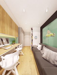 Zarysy Jan Sekuła - Pracownia Architektury, Wnętrz i Designu - Back To The Future Back To The Future, Corner Desk, Interior Design, Table, House, Furniture, Feels, Behance, Home Decor