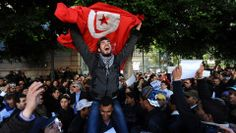 How started foreign exploitation of Tunisian Spring