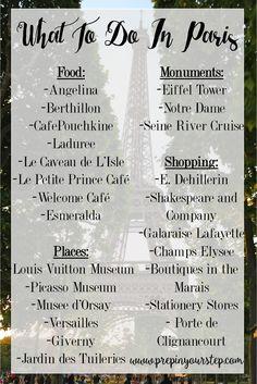 Prep In Your Step  Paris Favorites   What to do in Paris Summer In Paris 32cea229f