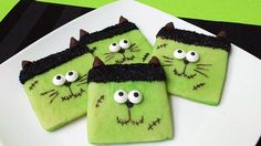 Dress up your cookies for an easy Halloween party win!
