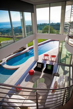 View to die for. #pools #view #outside #windows