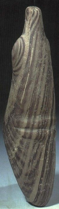 Abstract female stone, neolithic Sudan