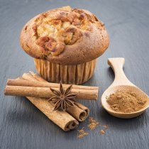 Delicious apple muffins with cinnamon - sweet food Mini Desserts, Apple Desserts, Vegan Desserts, Pan Dulce, Muffin Recipes, Cupcake Recipes, Cookies Cupcake, Apple Cinnamon Muffins, Fondant Cakes