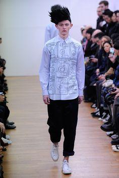 Comme des Garçons Shirt Fall 2015 Menswear - Collection - Gallery - Style.com