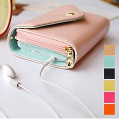 Royal Collection Smartphone Wallet & Clutch - Assorted Colors $9.00 Our Price $39.99 Retail