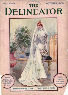 The Delineator Magazine issue for October 1900 was a facinating look at women's fashions at the turn of the twentieth century. They provided a glimpse of a women's life at the turn of the century with articles on fashion, clothing, housekeeping, raising children and more.