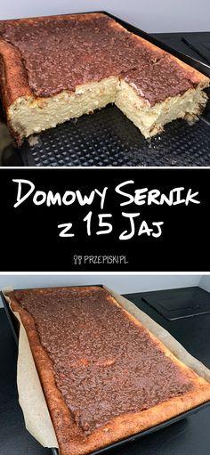 Domowy Sernik z 15 Jaj Tiramisu, Ethnic Recipes, Food, Essen, Meals, Tiramisu Cake, Yemek, Eten