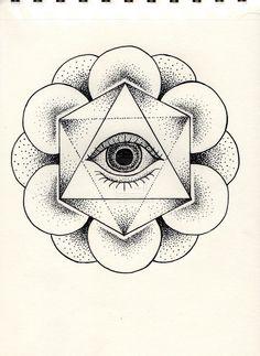 Eye Dotwork by Leeloukhi
