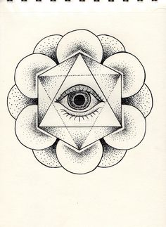 Eye Dotwork by Leeloukhi