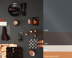 color trend by Tikkurila Color Inspiration, Interior Inspiration, Interior Ideas, Interior Design, Dark Grey Walls, Hearth And Home, Color Balance, Colour Pallete, Tasting Room