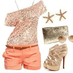 Coral chic