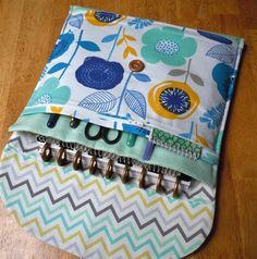 Planner Cover, Planner bag, Planner pouch, planner case, 3 sizes multi storage  Erin Condren, Plum Paper, Happy planner organizer bl floral