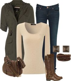 """""""Casual from the closet"""" by amabiledesigns on Polyvore"""