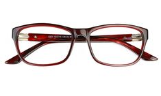 bb46f21f82 Vista First 0203 Acetate(ZYL) Womens Full Rim Optical Glasses(S.Brown