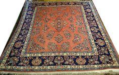 alfombras 200 x 250 | Alfombras barcelona   Alfombra Yazd Irán 240 x 225 cm Lana Ref: L – 413