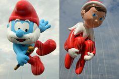 New Macy's balloons: Hello Kitty, Papa Smurf & Elf on The Shelf - NYPOST.com