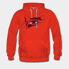 Thorn-Eye - Œil-épine (Sweat-shirt à capuche Premium Homme) | Impression sur Tee Shirt. Couleurs personnalisables