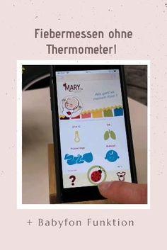 Mit diesem E-Health Wearable mit zusätzlicher Babyfon Funktionalität, weißt du über Temperatur-, Atmungs- und Bewegungsverhalten deines Kindes stets Bescheid und wirst rechtzeitig informiert, wenn dein Kind dich braucht. Thermometer, Baby Kind